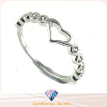 Joyería de plata del anillo 925 de señora caliente de la venta y de la manera (R10260)