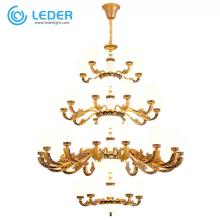 Luminaires suspendus en cristal LEDER