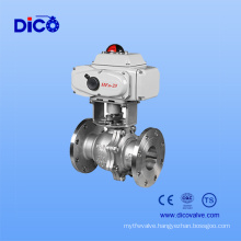 Electric Motor Flange Ball Valve with Low Price