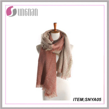 2015fashion Popular Online Wholesale Cheap Cashmere Scarf Knit Tartan Scarf Thick Cashmere Scarf