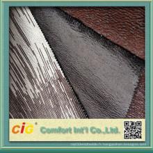 Polyester Bronzing Micro Suede Tissu