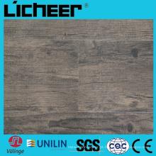 Revestimento à prova d'água de Wpc Piso compósito Price6.5 milímetro Revestimento de Wpc 9inx48in Revestimento de madeira de alta densidade Wpc