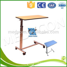 hospital furniture table,Over-bed Table,medical table for hospital,hospital furniture overbed table hospital bed