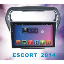 Android System 5.1 Navegación y GPS para Escort con reproductor de DVD de coche