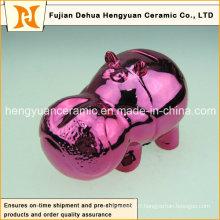 Deep Red Cartoon Toy Piggy Bank pour la décoration intérieure