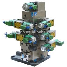 Sistemas de colectores integrados de máquina de prensa fría
