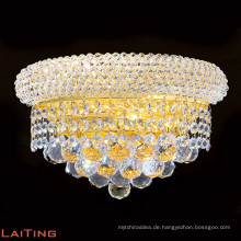 Goldende Wandlampe Luxux-k9 Kristallwandlampen, die 32422 beleuchten