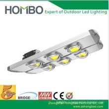 HOMBO Супер яркие уличные фонари 80W ~ 300W Алюминиевые светодиодные уличные лампы 5 лет гарантии Водонепроницаемые наружные огни