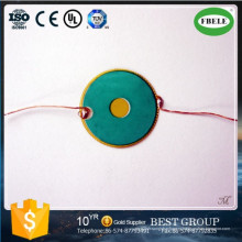 Китай на заказ Поставщик пьезо керамический элемент с проводом (FBELE)