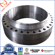 ASTM B381 Gr2 Titanium Forged Slip-On Flange