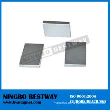 NdFeB Grau 3 Ferrite Magnet Block W / Ni Revestimento