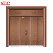 Custom design good quality exterior stainless steel pivot door