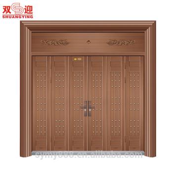 Custom design good quality exterior stainless steel pivot door