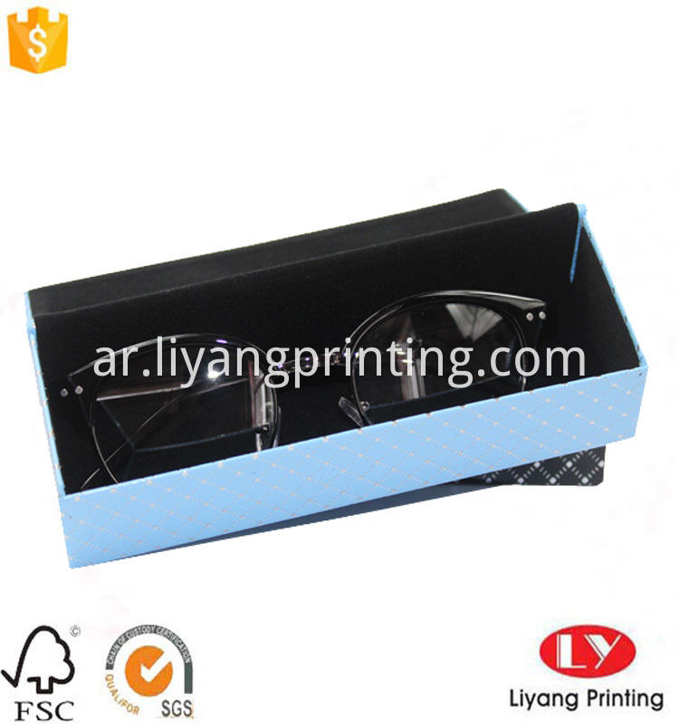 sunglass paper packaing box
