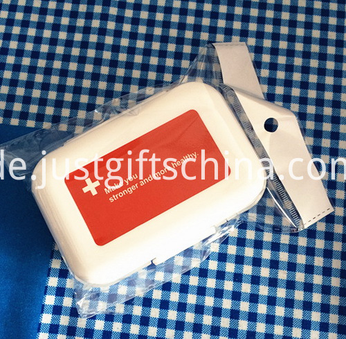 Promotional Mini Plastic Pillboxes W Compartments (3)