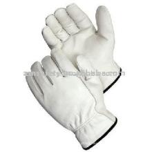 Cowhide Grain Driver Working Gloves ZM117-L