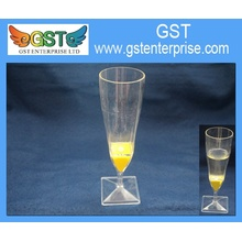 Flashing Square Base Tall Champagne Cup