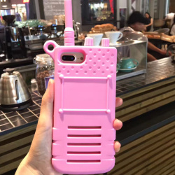 soft silicon phone cover case  Walkie-talkie