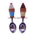Customized Sculpture Polyresin Handle Ice Cream Scoop