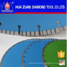 Lame de diamant de coupe de béton de soudure de laser pour le béton
