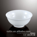 Porcelain rice bowl for restaurant and hotel ,wholesale ceramic bowl