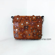 New Arrival Lady PU Embossed Handbags Mini Leather Bag (NMDK-033104)