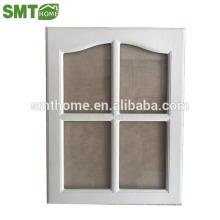 Puertas de gabinete de cocina envueltas en vinilo de PVC