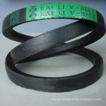 Custom-Made High Wearing Resistance Low Compress Cotton Canvas Rubber V Belt