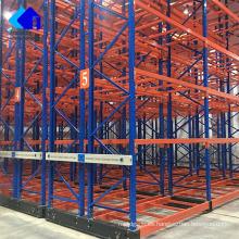 Sistema de almacenamiento de paletas móvil eléctrico resistente Warehouse personalizado