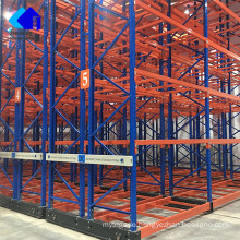 Customized Warehouse Heavy Duty Electric Mobile Pallet Racking System