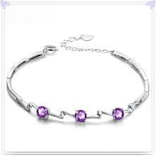 Joyas de cristal pulsera de moda 925 joyas de plata esterlina (SL0082)