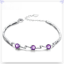 Crystal Jewelry Fashion Bracelet 925 Sterling Silver Jewelry (SL0082)