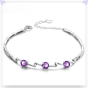 Crystal Jewelry Fashion Bracelet 925 Sterling Silver Jewelry (SL0082)
