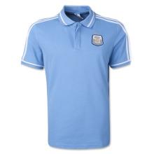 Argentina 2014 National Team Polo Fashion Soccer Polo Shirt