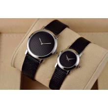 Nova coleção quartzo casal relógio