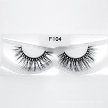 Makeup Use Faux Mink Eyelashes False Silk Synthetic Eyelash