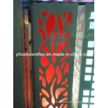 Material reflectante para lámpara