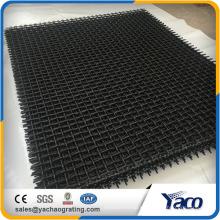 65Mn Malla de malla de alambre prensado de malla de alambre para trituradoras de apertura 10 mm de alambre de 4 mm