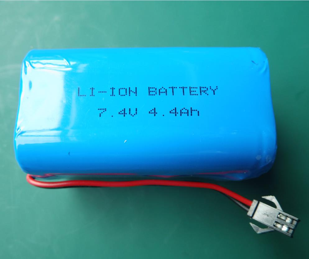 7.4V-4.4Ah smart lithium battery