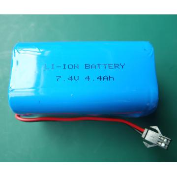 7.4V li ion batteri pack 4.4Ah