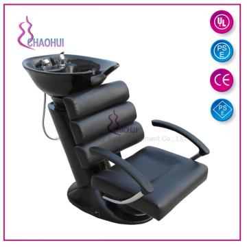 Champú reclinable con reposapiés