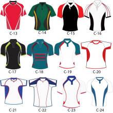Venta al por mayor personalizada Venta al por mayor Jerseys / Uniformes Rugby
