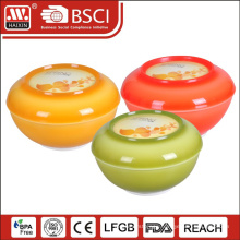 Durable plastic wholesale plastic fish rice bowls
