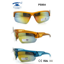 Newest Colourful 2015 Woman Man Fashion Sport Sunglasses (PS954)
