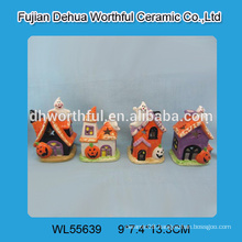 New arrival halloween decorations,ceramic halloween ghost and ceramic pumpkin wholesale