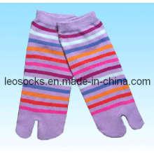 Mode Frauen zwei Zehen Socken (DL-TS-03)