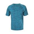 T-shirt respirant en polyester Sports GYM Workout pour hommes