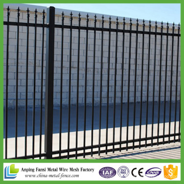 High Quality Villa Security Zinc Steel Fence