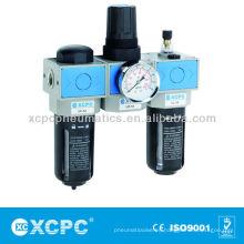 Aire fuente tratamiento unidades-XUC seris FRL-aire preparación unidades de aire filtro de combinación