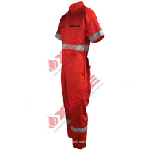 modacrylic fr women overalls used in avation